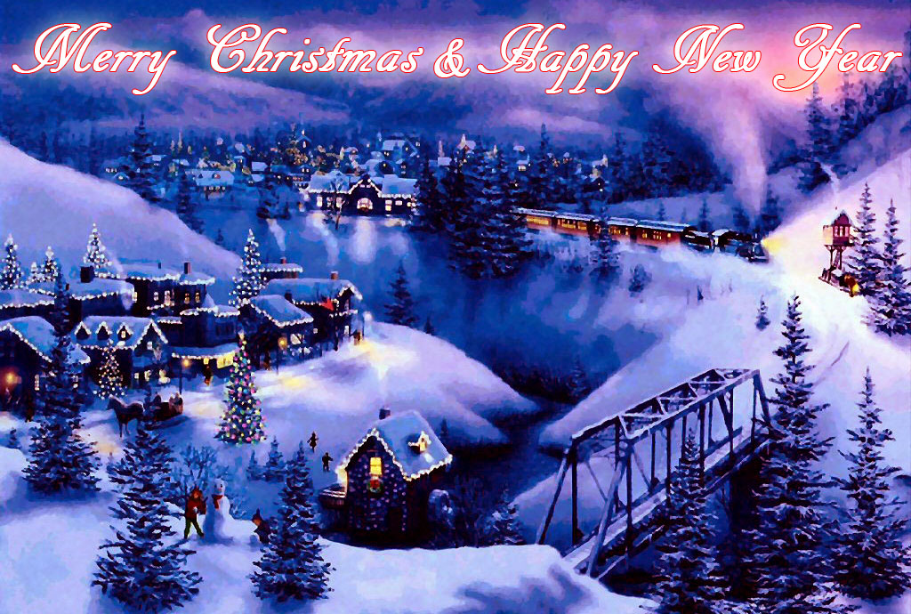 New Year 2014, Christmas 2013 Greeting Cards E-Cards Wallpapers ...